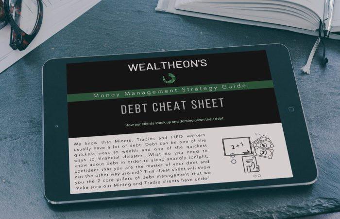 A Get Out of Debt Cheat Sheet